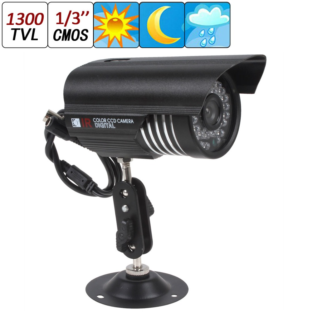 New HD 1300TVL 36IR 3.6mm LEDs Sony CMOS CCTV Security Camera Waterproof Day Night<br><br>Aliexpress