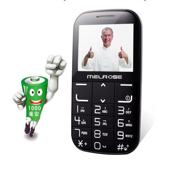 En Stock Pantalla Grande/Altavoz/Font/Linterna Original Melrose i310 + 2.4 Pulgadas de Carga Inalámbrica Anciano Teléfono Celular móvil F10 F2(China (Mainland))