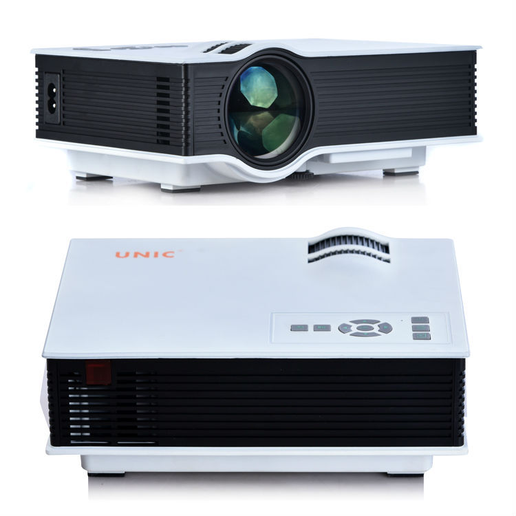 Hd 1080p mini projector multimedia led lcd home theater for Best mini projector 2015