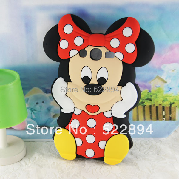 Lovely Fashion 3D Mickey Mouse Soft Silicone Back Cover Case Samsung Galaxy Grand Duos i9082 - Wynn yi's store