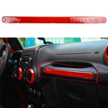 Copilot Handle Trim Red For Jeep Wrangler 2007 2016 Interior Mouldings