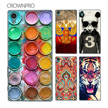 Buy CROWNPRO Coque FOR Sony Xperia Z5 Case Cover E6603 E6633 E6653 E6683 Painting Phone Back Protector Cover Case FOR Sony Z5 Case for $1.20 in AliExpress store