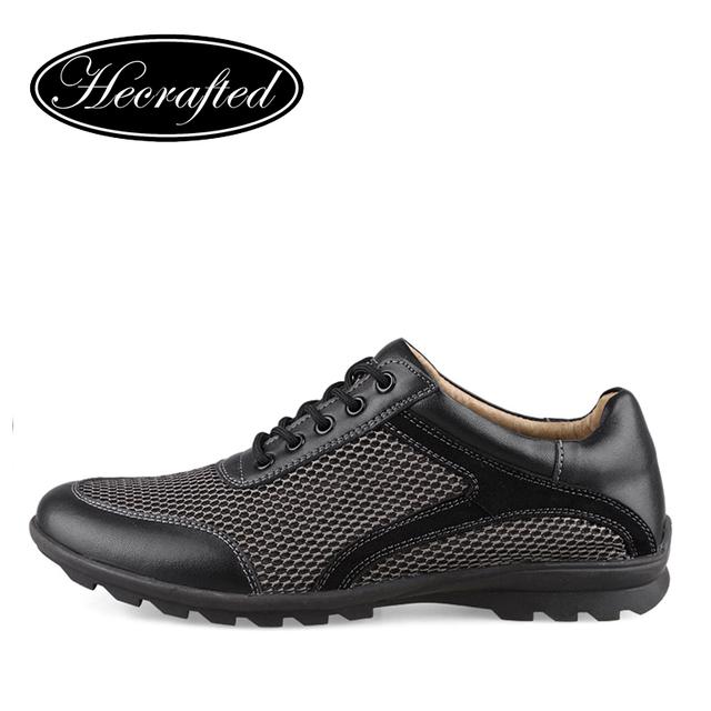 37 ~ 47 мужчин свободного покроя обувь дышащая hecrafted марка Высокое качество ретро ...