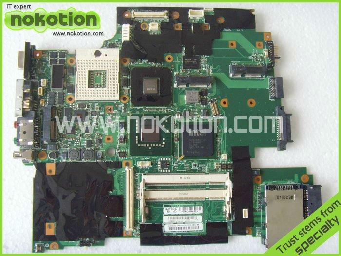 FRU: 43Y9047 11S42X6803 FOR Lenovo IBM thinkpad R61 T61 15.4 LAPTOP Motherboard 965PM Nvidia G86-740-A2 128M 42W7652 DDR2<br><br>Aliexpress