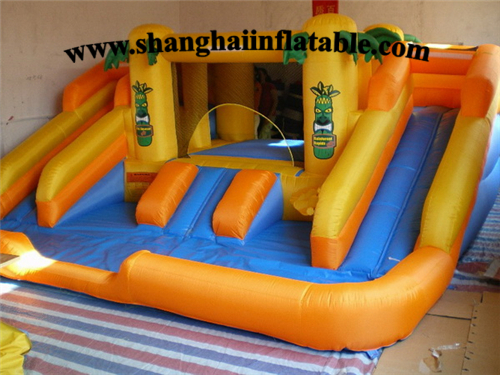 Gardan PVC Inflatable Air Bounce toy ,Beach Inflatable Jumper with Air Blower,children'sparadise Stretch House with Pump(China (Mainland))