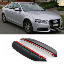 Buy FOR AUDI A4 Fourth generation B8 2007 2015 rearview mirror rain eyebrow Rainproof Flexible Blade Protector Car Styling for $7.10 in AliExpress store