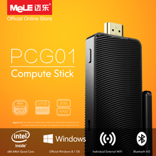 Fanless Intel Compute Stick MeLE PCG01 Quad Core Mini PC Genuine Windows 8.1 Atom Z3735F 2GB DDR3 32GB eMMC HDMI WiFi Bluetooth
