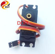 Оригинал DOIT 2 шт. 360 градусов Металла рулевой Механизм Цифровой Servo mg995r Непрерывного Вращения Для манипулятора автомобиль робота-манипулятора(China (Mainland))