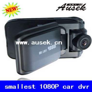 TRUE HD video camera recorder MINI 1080P car dvr 2 inches 4:3 TFT LCD Car black box FREE SHIPPING