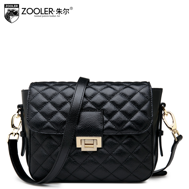 2016 women's spring genuine leather handbag cowhide fashion women's bags all-match fashion small messenger bag
