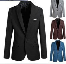 wholesale red blazers for men