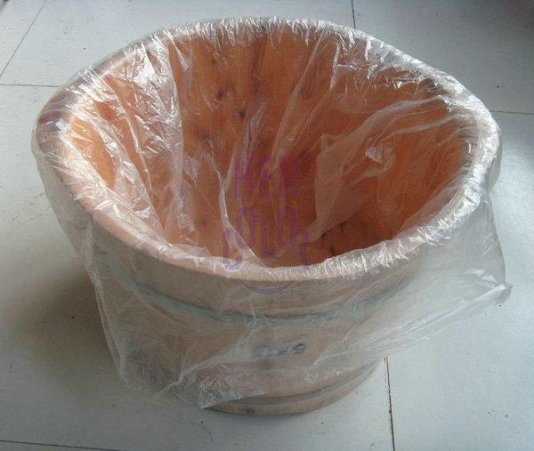 80pcs disposable footbath tub barrel liners for ion detox for Tub liners cost