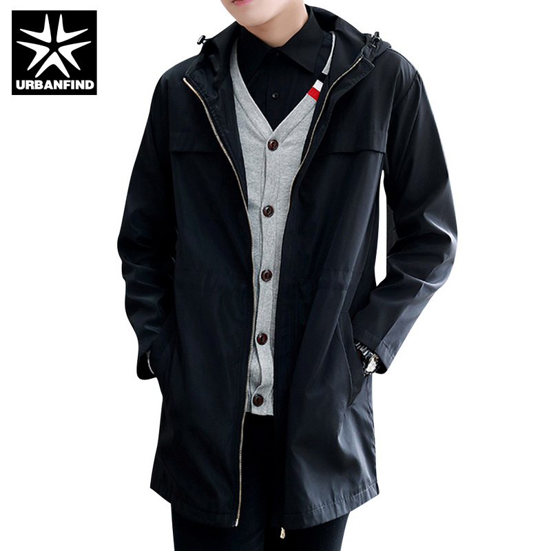 Compare Prices on Long Black Trench Coat with Hood Men- Online ...