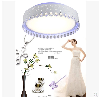 Modern Minimalist Living Room Led Ceiling Lamp Crystal Light Restaurant Study Bedroom Lighting<br><br>Aliexpress