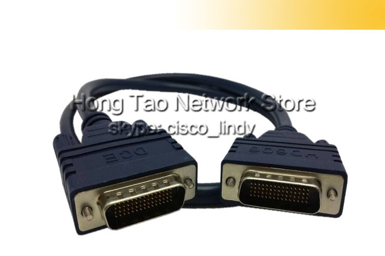 Free shipping 3FT Network Router Cable CAB-HD60MMX DTE/DCE Smart Serial Cable for Cisco Wic-1t, Nm-4t CAB-SS-6060(China (Mainland))