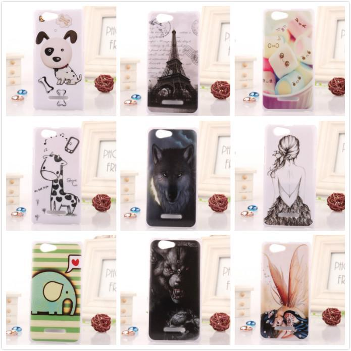 1pcs Drawing Style Back Protector Shell plastic Cover hard Painted Transparent Skin Cell Phone Case For Gigabyte GSmart Roma R2(China (Mainland))
