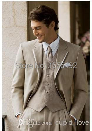 Hot sale 50% off Fashion tuxedos Gentleman Plaid men's dress Personality Wool polyester blend wedding suits for men groom suit(China (Mainland))