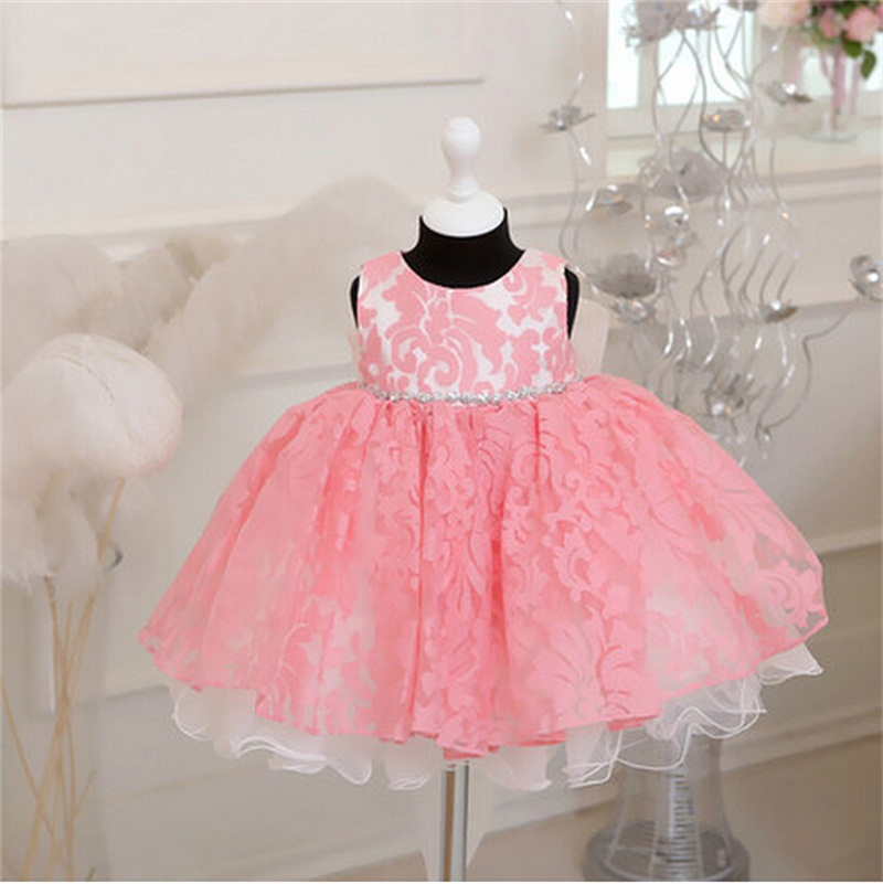 Vintage Baby Lace Christening Gown Dress Newborn Baby Girls Princess 1 Year Birthday Party Baptism Dress Kids Dresses For Girls(China (Mainland))