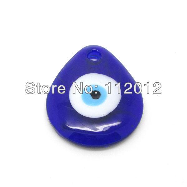 Classic Blue Drop Evil Eye Turkish Eye NAZAR Lucky Eye Pendant  Wall Hanging DIY Accessories,5Pcs/Lot ,Free Shipping(China (Mainland))