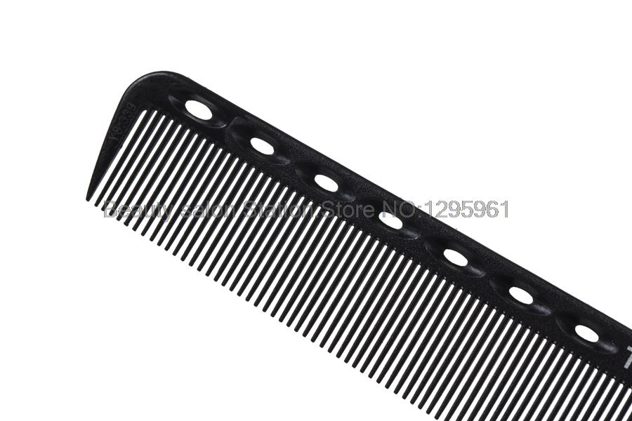 High Quality Salon Hair-Cutting Anti StaticHair Styling Hairdressing Carbon Black Comb #06415 50072