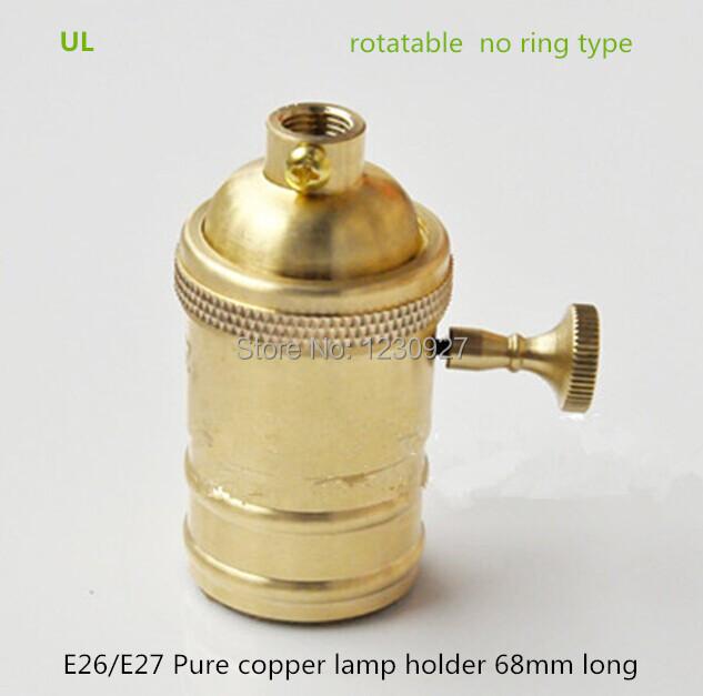 Hohe qualität großhandel kupfer lampenhalter aus china kupfer ...