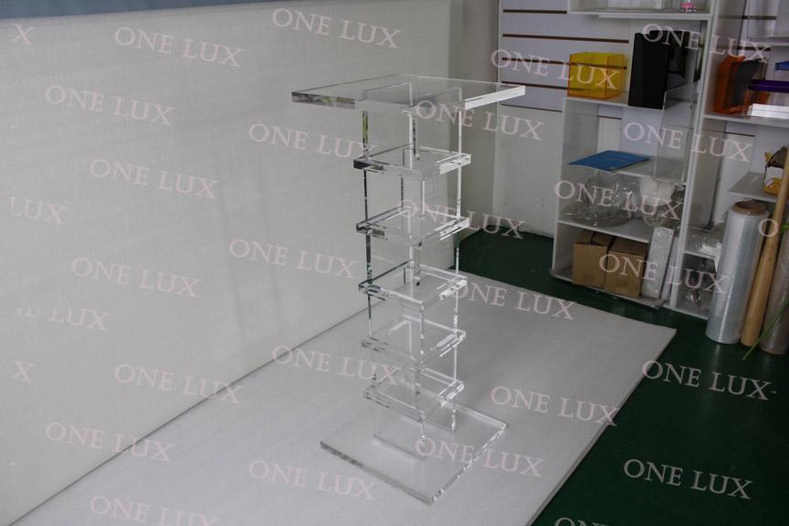 Online kaufen gro handel plexiglas konsole aus china plexiglas konsole gro h - Console en plexiglas ...
