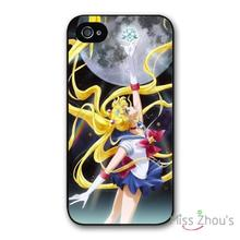 Sexy cute Sailor Moon back skins mobile cellphone cases for iphone 4/4s 5/5s 5c SE 6/6s plus ipod touch 4/5/6