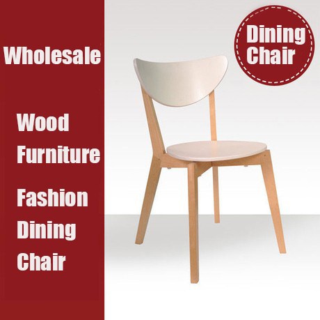 New white dining chair,wood chairs, Dining Room Furniture wooden furniture(China (Mainland))