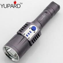 YUPARD XM-L2  Flashlight Torch USB charge  5modes mobile power 18650 battery 2000Lms Intelligent flashlight(China (Mainland))