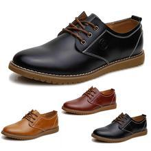 Nuovo 2015 moda uomo scarpe in pelle uomo appartamenti scarpe basse uomo scarpe oxford(China (Mainland))