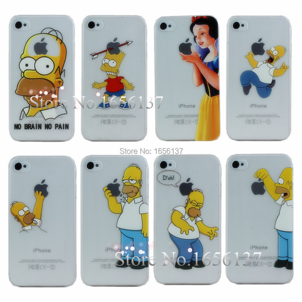 Case Simpsons Iphone 4 For Apple Iphone 4 4s Case New