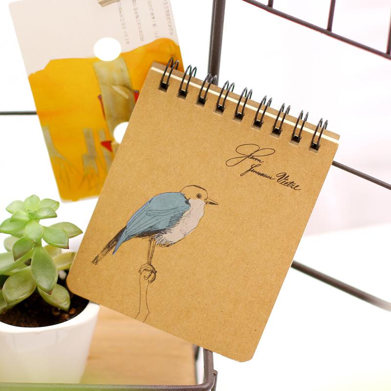 Kawaii Japanese Korean Cute Hardcover Blank Spiral Notebook Paper Note Book Notebooks And Journals Copybook School Supplies(China (Mainland))