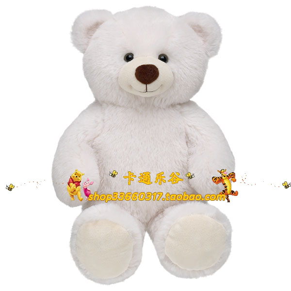 Birthday gift build a bear ultra soft almond lil almond cub(China (Mainland))