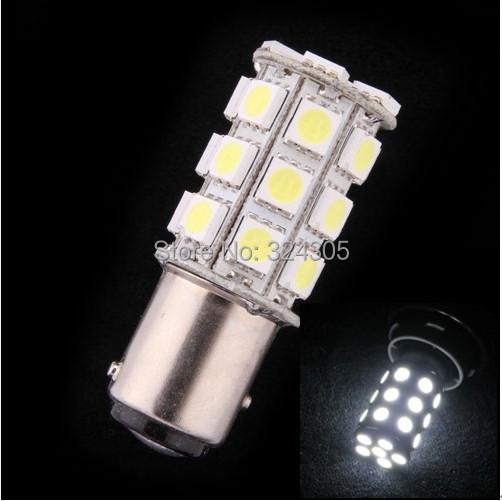1 pcs/lot 1157 bay15d 27 5050 SMD LED Car Brake Tail Turn Light stop lamp parking Bulb 12V white yellow blue - store