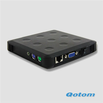 QOTOM-N13 Hot Exporting  Basic sharing device, Thin Client ,Network Computing, N-computing .Zero Client,Fanless Station