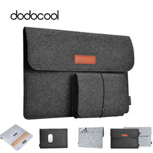 dodocool Fashion Soft Sleeve Bag Case For Apple Macbook Air Pro Retina 11 12 13 Laptop Anti-scratch Cover For Mac book 13.3 inch(China (Mainland))