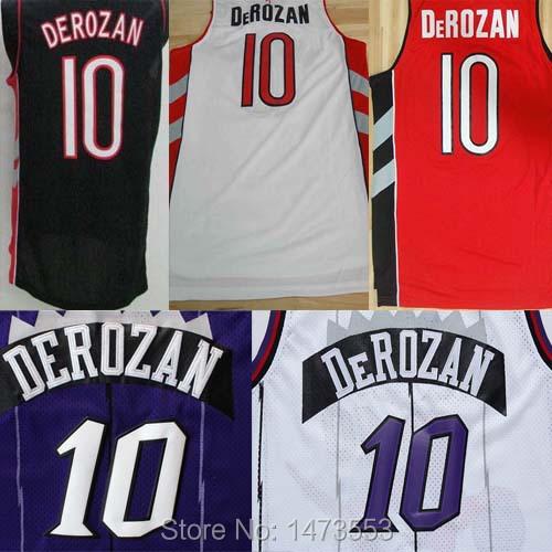 , #10 DeRozan , DeRozan Stitched Jersey nyc 2015 7 rev 30 s xxl stitched jersey
