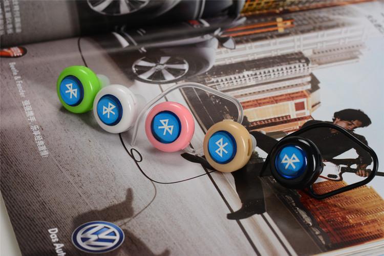 Ear Hook Headset Mini  Bluetooth 4.1 Earphone wireless Headphone to ear Earpiece auriculares handfree call