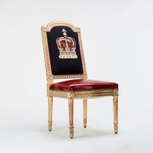 Baroque Style King Chair For Living Room Modern BAROCCO FURNITURE Barroco Dining Chairs(China (Mainland))