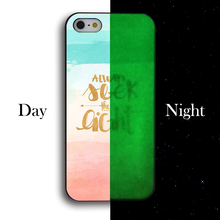 Buy Luminous Lovely Funny Words Printing Hard Cover Case Coque iphone 4 4s 5 5s 5c 5se 6 6s 6plus 6splus 7 7plus for $3.49 in AliExpress store