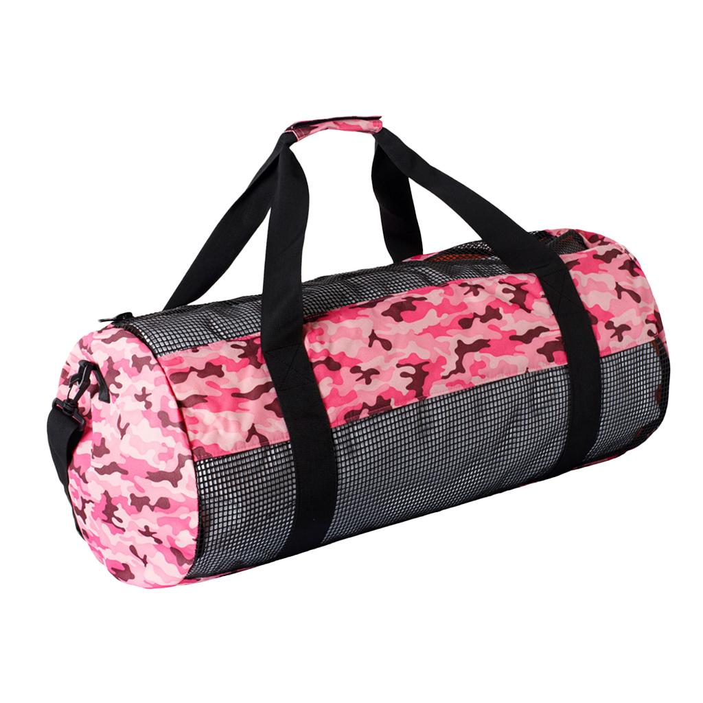 Durable Mesh Scuba Dive Duffel Bag Equipment Storage Pouch Case