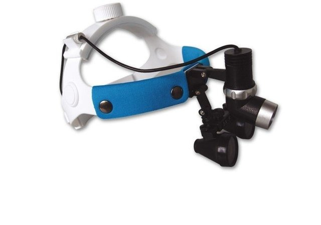 LED headlights Headlamp 3W with magnifier dental loupe 3.0X for Dental Surgical FREE SHIPPING by DHL or FEDEX
