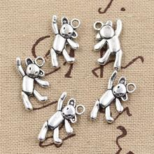 Buy 99Cents 8pcs Charms gymnastics lovely bear 19*10mm Antique Making pendant fit,Vintage Tibetan Silver,DIY bracelet necklace for $1.00 in AliExpress store