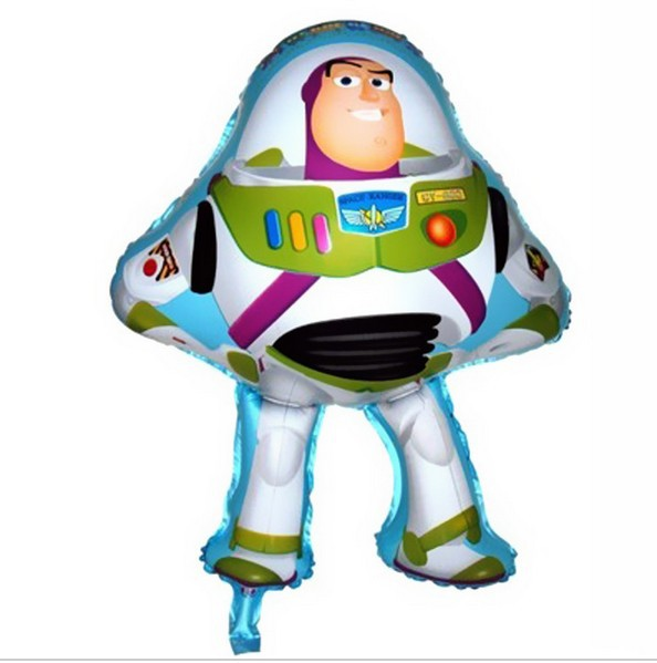 New Arrival 50*75cm Buzz Lightyear Shape Balloon Story Party Decoration Toy Foil Helium Balloons For Kids Birthday Party