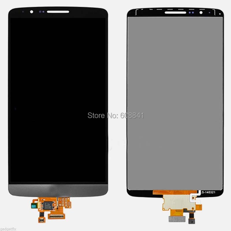 100% Work Original Replacement White LCD Display+Touch Screen Digitizer For LG G3 D850 D851 D855 VS985 LS990(China (Mainland))