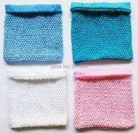 8x10  inches Large Lined Crochet tube top tutu top baby girls crochet pettiskirt tutu tops Mixed color 50pcs per lot