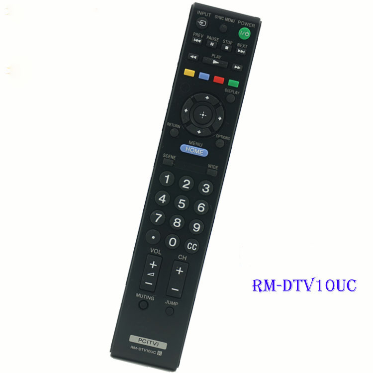 (4pcs/lot)NEW HOT Universal Remote Controller RM-DTV10UC For SONY LCD LED HDTV REMOTE CONTROL mandos garaje universal Low Price(China (Mainland))