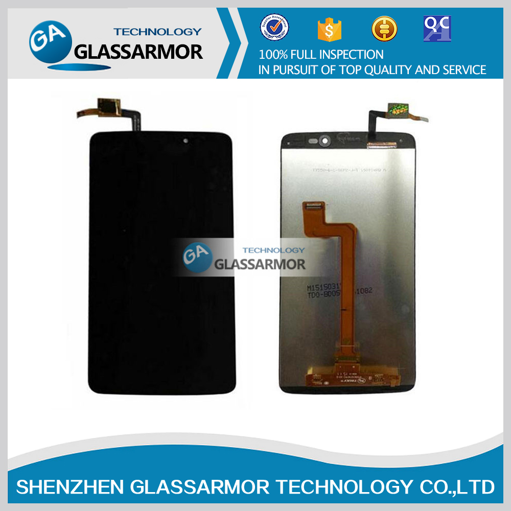 GLASSARMOR Brand New For Alcatel OT6045 6045Y LCD Display + Digitizer Touch Screen Replacement Free shipping(China (Mainland))