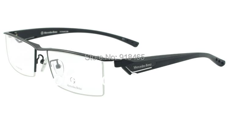 Titanium glasses frame titanium eyeglasses frame male glasses myopia frame eyeglasses Big Face MB4001