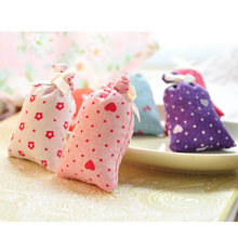 New Lovely Pretty Practical Mini Dried Flower Bud Filled Fragrant Sachet Office Room Wardrobe Multi Scent(China (Mainland))